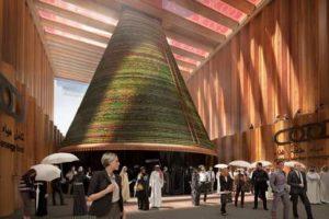Circulaire biotoop voor wereldtentoonstellig Dubai