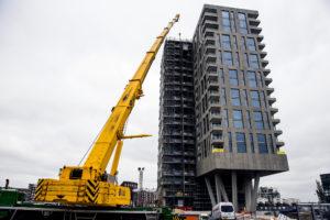 Bouwrecord Amsterdam: 8.639 woningen in aanbouw