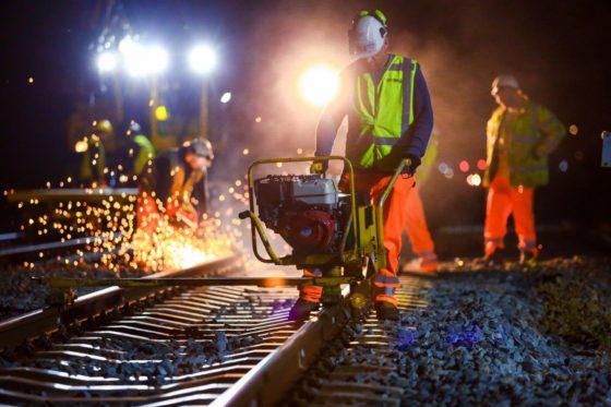 Bonus bij snelle oplevering spoorklussen: Viervijfde projecten is nachtwerk