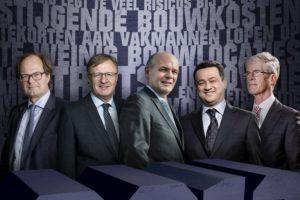 Topmannen grote bouwers willen oplossing voor noodsituatie woningmarkt