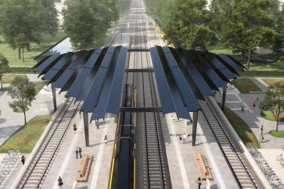 Strukton bouwt Delft-Zuid om tot het eerste energieneutrale treinstation van Nederland