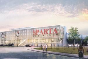 Renovatie en uitbreiding Sparta stadion Het Kasteel