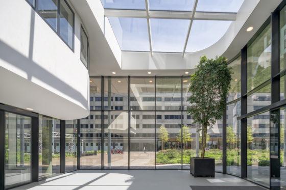 Uitgeblust Spark-gebouw nieuw leven ingeblazen met uitgekiende ingrepen