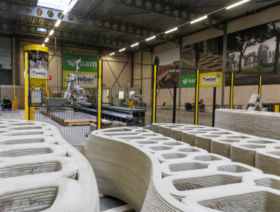 BAM en Beamix  brengen 3D-betonprinten in hogere versnelling met nieuwe fabriek