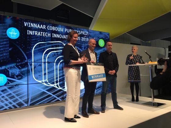 Smart Traffic van Sweco wint Cobouw Publieksprijs