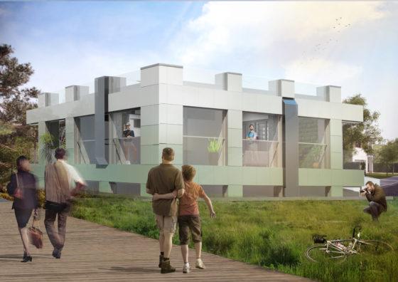 Studententeam TU Delft tovert energieslurpend kantoor om naar flexibel wooncomplex