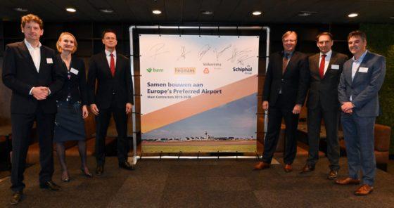 BAM, Heijmans en VolkerWessels krijgen 3 miljard euro omzet aan onderhoud Schiphol