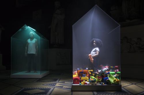 maaiveld | Bedompt plastic huisje confronteert Bouwbeursbezoeker met beroerd binnenklimaat