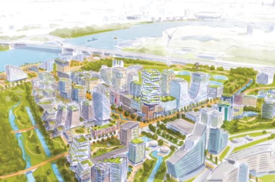 Zieltogend bedrijventerrein Rivium wordt hippe woonwijk met vijfduizend woningen