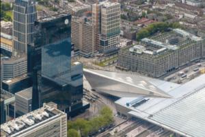 Rotterdam start tender nieuwe woon- en werktoren naast Centraal Station