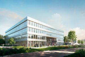 Nieuw onderwijsgebouw op Campus Stappegoor Tilburg