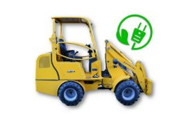 Elektrisch aangedreven minishovel