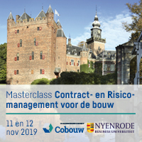 11 & 12 november 2019 – Nyenrode Contract- en Risicomanagement