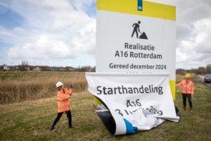 Groene Boog aan de slag met eerste energieneutrale A16-tunnel: 'Ondergrond best 'tricky'