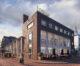 Historische lijnen spinnen rond een oude broodfabriek