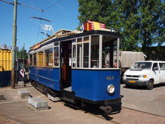 Historische tram houdt bouw 500 Amsterdamse woningen tegen