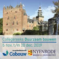 5 nov t/m 10 dec. 2019 – Nyenrode collegereeks Duurzaam bouwen