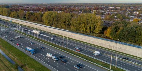 Hardrijders op de bon bij wegwerk Boskalis en Van Gelder op A2 Utrecht
