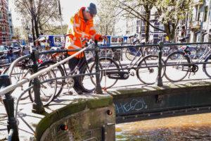 Ingenieursbureau RPS stelt stukjes Amsterdamse kademuur onder verscherpt toezicht