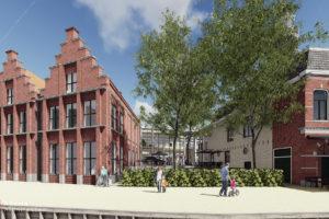 Verbouwing stadhuis Bolsward prooi voor dochters Friso Bouwgroep