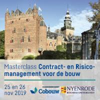 25 & 26 november 2019 – Nyenrode Contract-en Risicomanagement