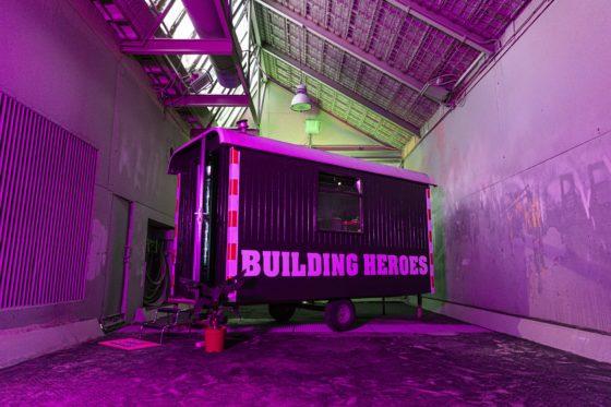 Maaiveld | Helden van de bouw verdienen de allerbeste bouwkeet