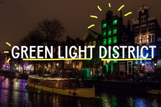 Amsterdamse wallen verduurzaamd tot Green Light District