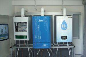Wereldprimeur in Rozenburg: waterstofketel verwarmt appartementencomplex