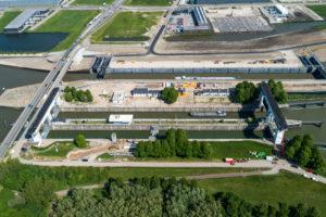 Ongeluk bij Beatrixsluis vertraagt uitvoering: Kolk 1 blijft buiten gebruik