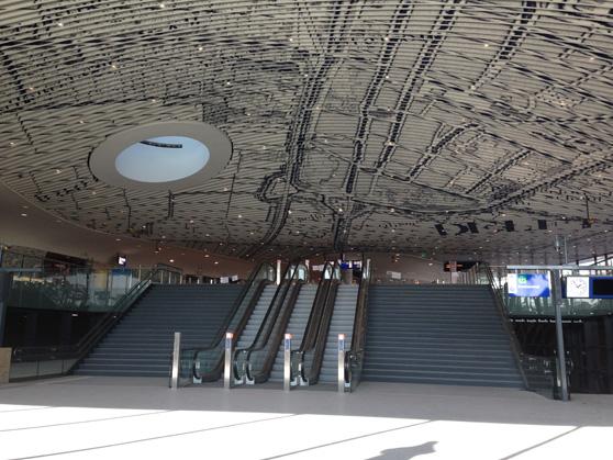 Geen verrassingen in station Delft