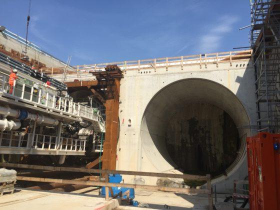 Gaia boort 15 meter per dag richting A44: 'Tunnelboren is net autorijden'