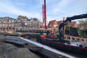 Otto's brug krijgt nieuwe palen: drama rondom verdwenen heipaal voorbij