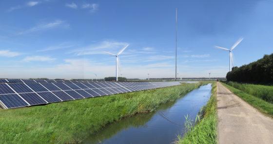 'Eerste Nederlandse zonne- en windenergiepark'