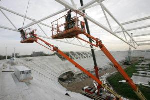Hoe het AZ-stadion de genadeklap werd voor de Friese staalbouwer Hardstaal