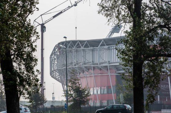 Het ging echt op àlle fronten mis bij de bouw van het AZ stadion