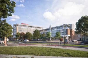 Iconische Nefkensgebouw Amersfoort krijgt nieuwe bestemming
