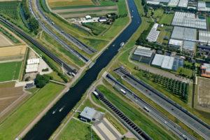 Nieuw Ringvaartaquaduct A4 komt op de plek bestaande aquaduct