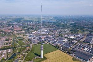 Nederlands hoogste constructie voorzien van detectie- en blussysteem