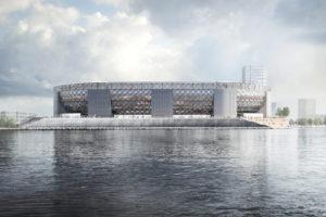 Definitief ontwerp nieuwe Feyenoord stadion klaar