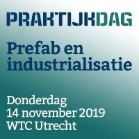 14 november 2019 – Praktijkdag Prefab en industrialisatie